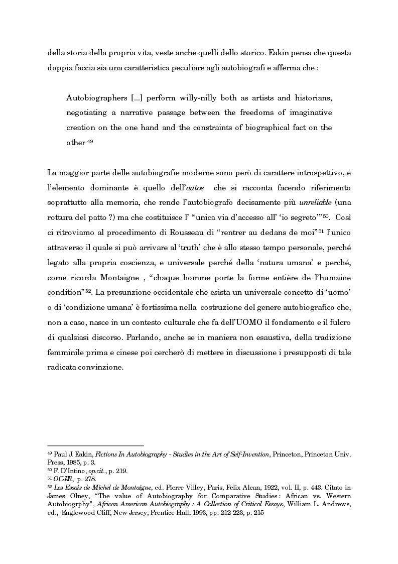 Anteprima della tesi: Wild Swans: storia, auto/biografia e identità femminile, Pagina 15