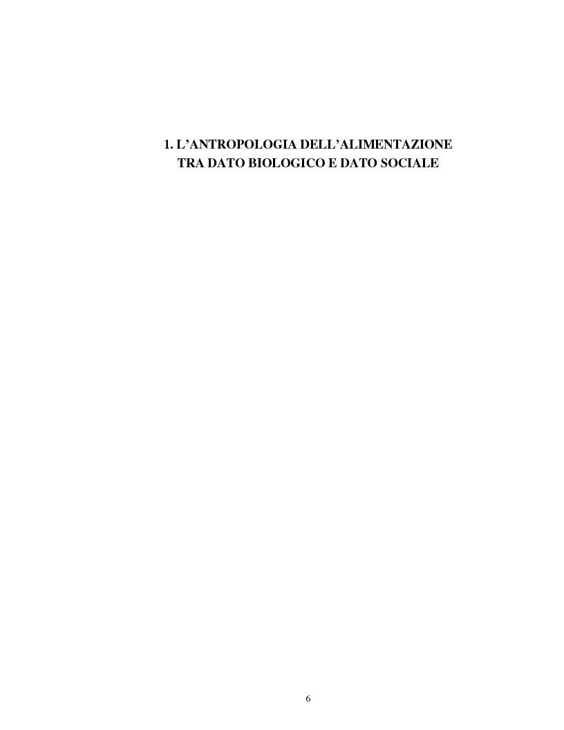 Anteprima della tesi: Usi alimentari in un contesto contadino tradizionale. L'alimentazione delle famiglie mezzadrili a Spello negli anni '50, Pagina 4