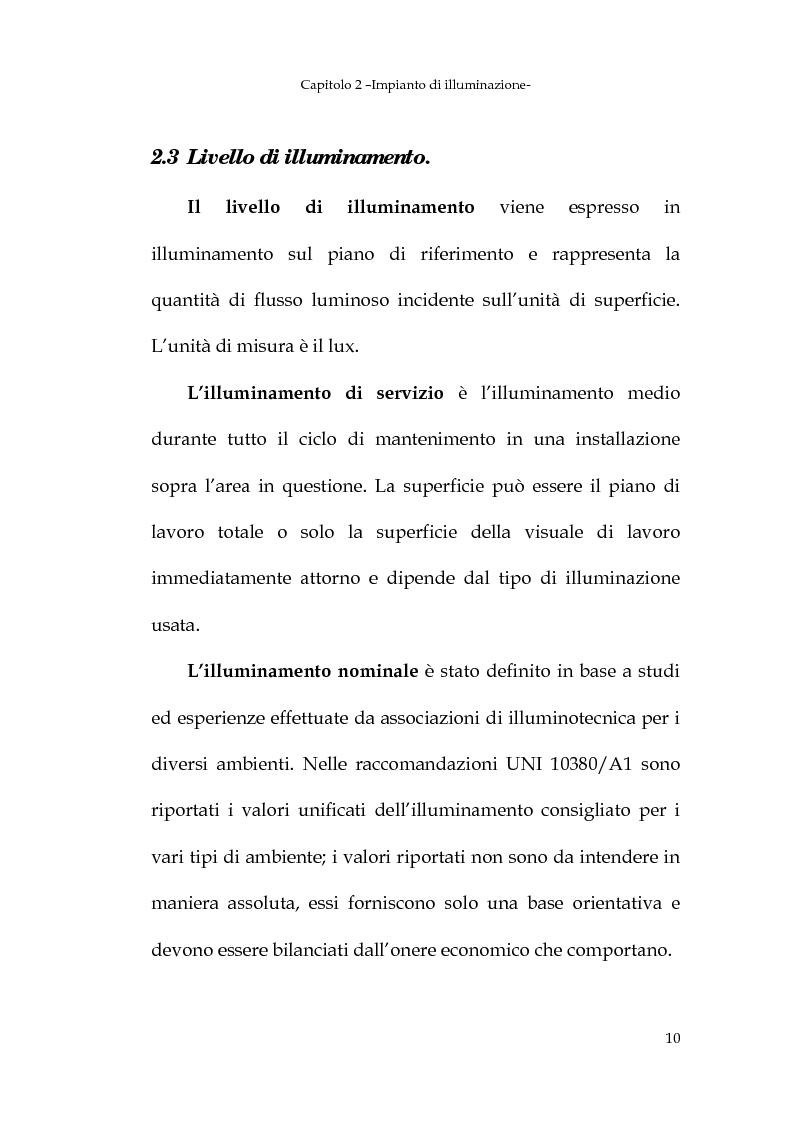 Anteprima della tesi: Progetto dell'impianto elettrico di uno stabilimento per la produzione di cavi, Pagina 10