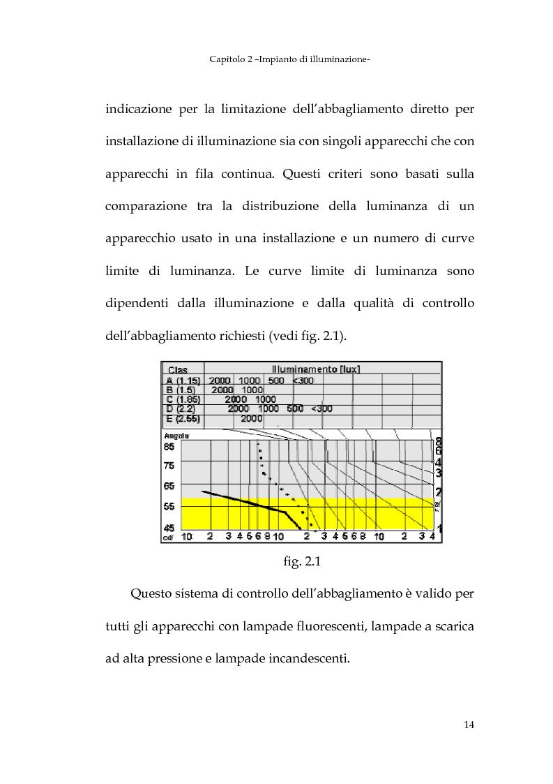 Anteprima della tesi: Progetto dell'impianto elettrico di uno stabilimento per la produzione di cavi, Pagina 14