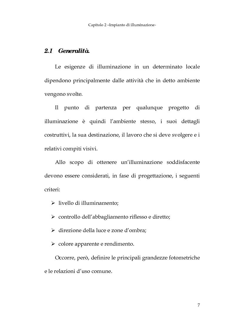 Anteprima della tesi: Progetto dell'impianto elettrico di uno stabilimento per la produzione di cavi, Pagina 7