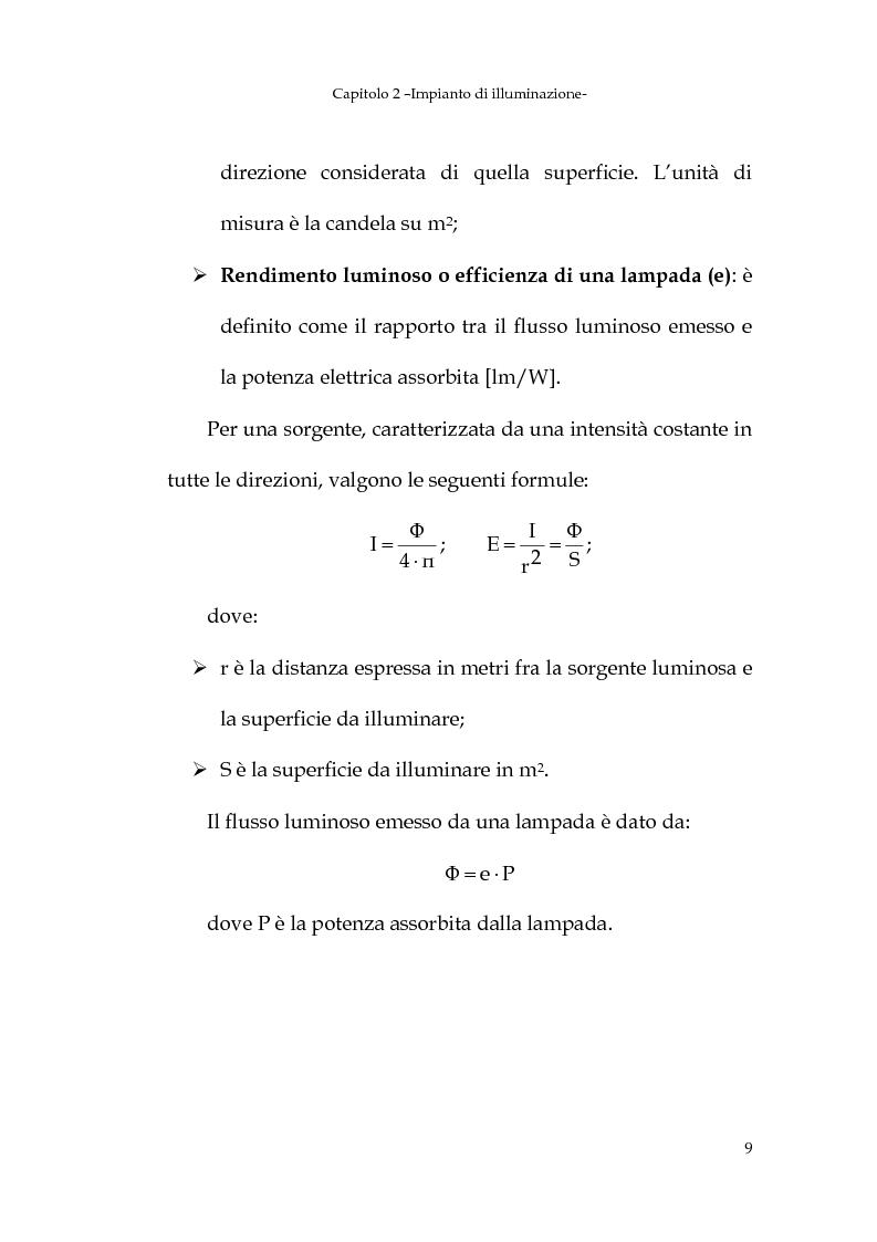 Anteprima della tesi: Progetto dell'impianto elettrico di uno stabilimento per la produzione di cavi, Pagina 9