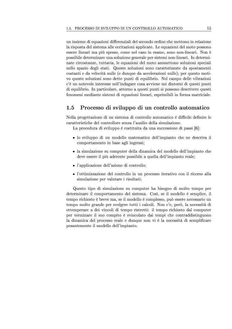 Anteprima della tesi: Controllo attivo delle vibrazioni: sperimentazione su un simulatore dinamico di motore C.I., Pagina 15