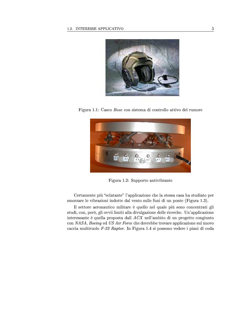 Anteprima della tesi: Controllo attivo delle vibrazioni: sperimentazione su un simulatore dinamico di motore C.I., Pagina 5