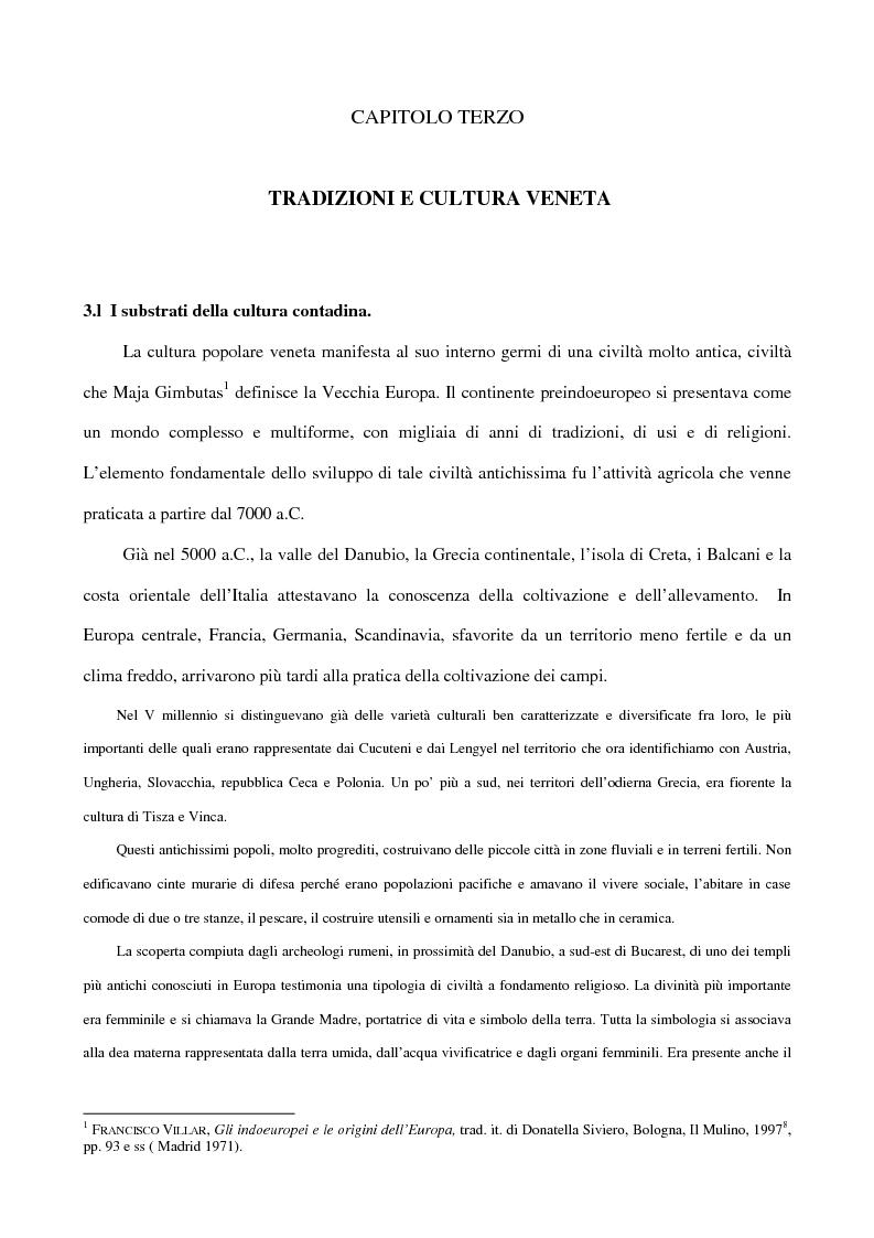 Anteprima della tesi: 'Contafole' e personaggi in ''Paese Perduto'' di Dino Coltro, Pagina 1