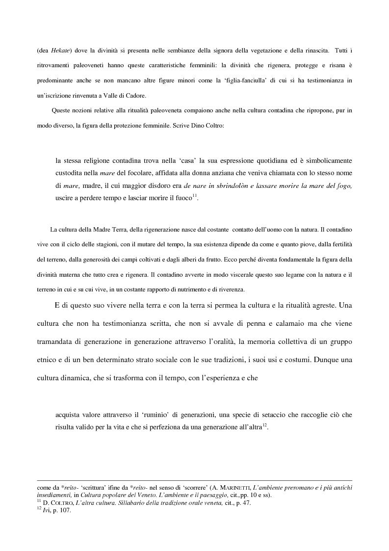 Anteprima della tesi: 'Contafole' e personaggi in ''Paese Perduto'' di Dino Coltro, Pagina 6