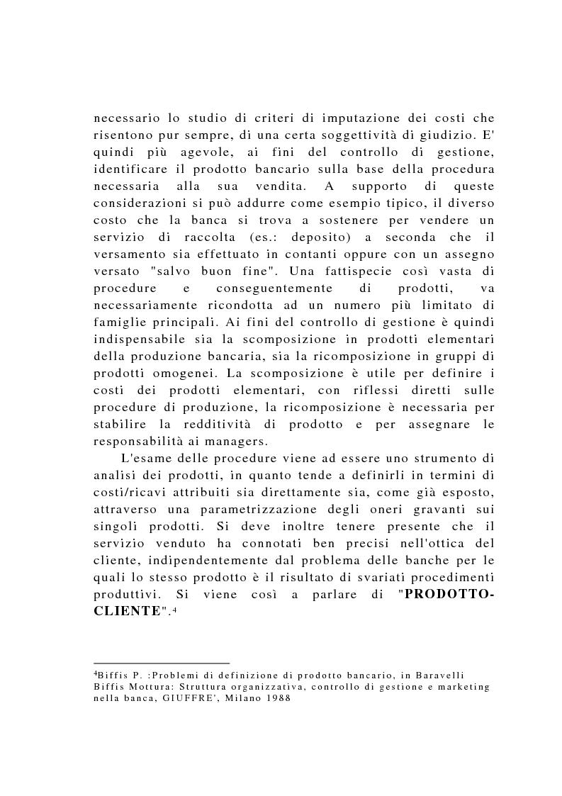 Anteprima della tesi: Il controllo di gestione negli istituti di credito, Pagina 8