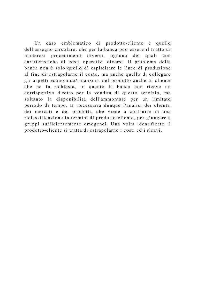 Anteprima della tesi: Il controllo di gestione negli istituti di credito, Pagina 9