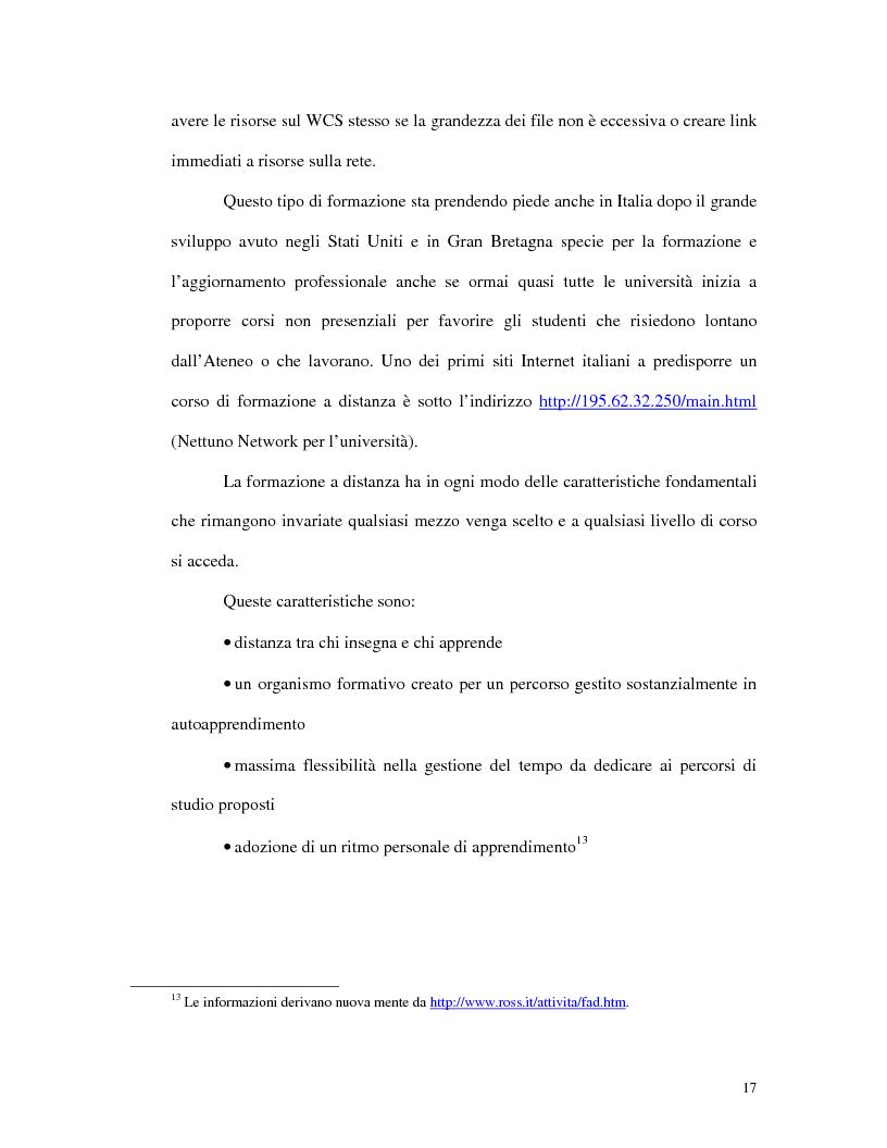 Anteprima della tesi: L'uso di Internet per l'apprendimento della lingua inglese, Pagina 15