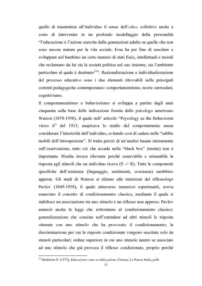 Anteprima della tesi: Tecnologie telematiche e riconversione professionale, Pagina 12