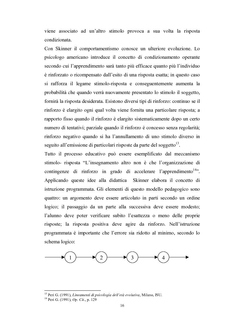Anteprima della tesi: Tecnologie telematiche e riconversione professionale, Pagina 13