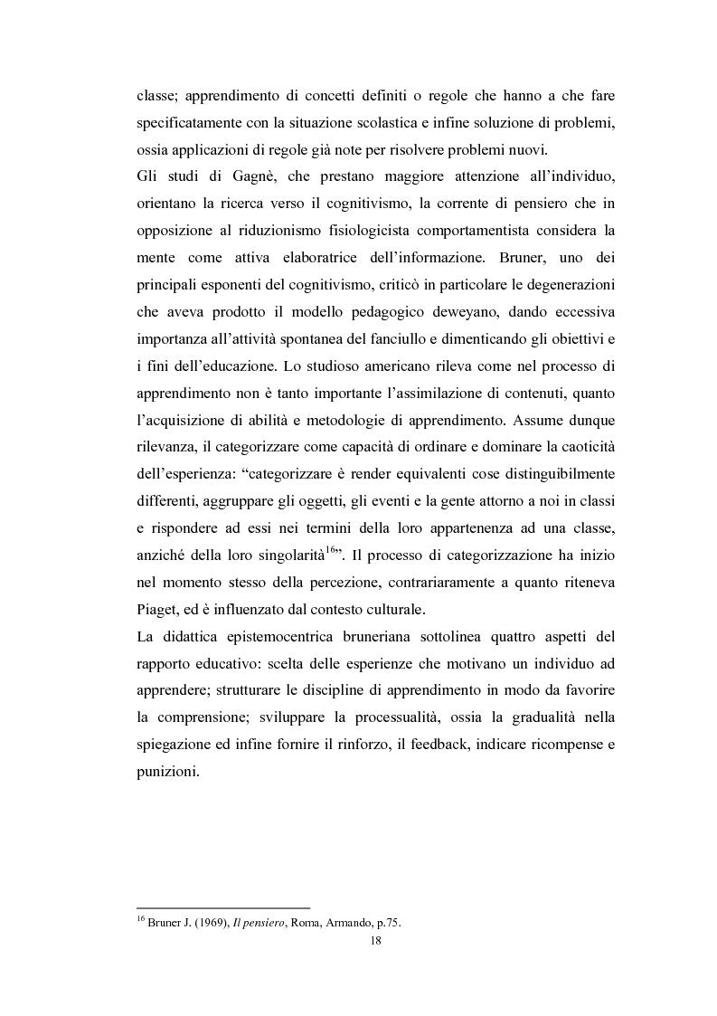Anteprima della tesi: Tecnologie telematiche e riconversione professionale, Pagina 15