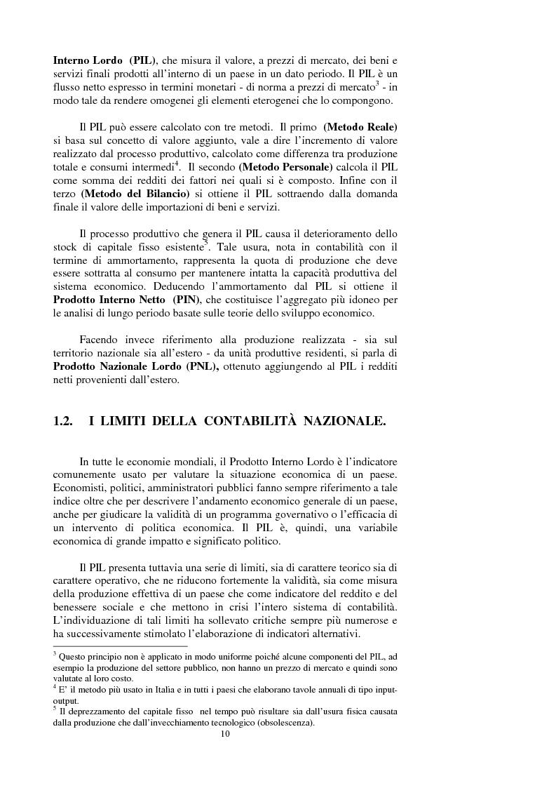 Anteprima della tesi: La valutazione dei beni ambientali nella Contabilità Economica Nazionale, Pagina 6