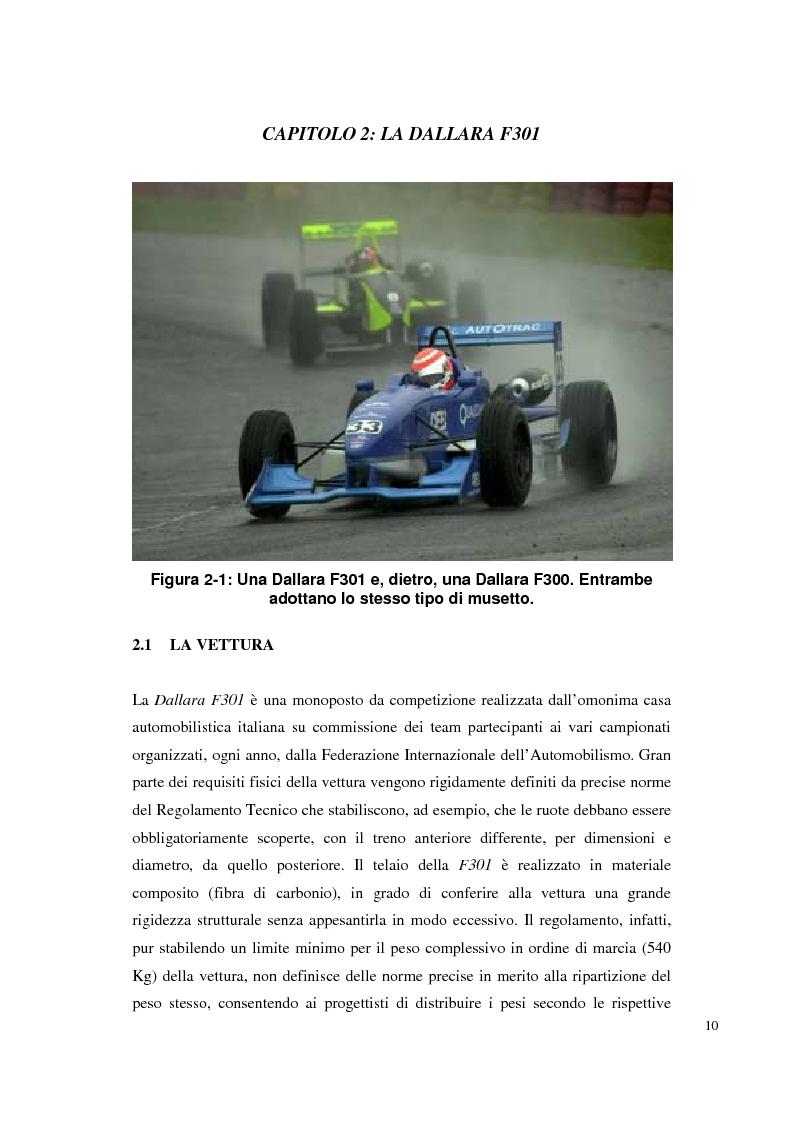 Anteprima della tesi: Bilancia estensimetrica sull'ala anteriore di una vettura di Formula 3, Pagina 10