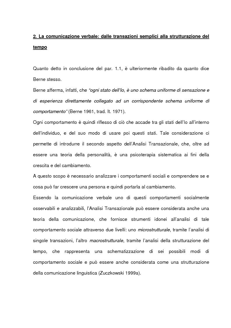 Anteprima della tesi: La comunicazione intima: un metodo di formazione al dialogo felice, Pagina 13