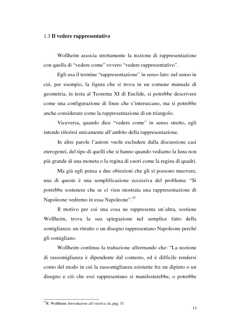 Anteprima della tesi: Il pensiero estetico di R. Wollheim, Pagina 13