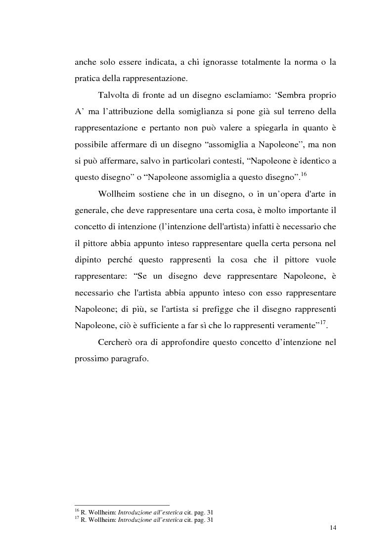 Anteprima della tesi: Il pensiero estetico di R. Wollheim, Pagina 14
