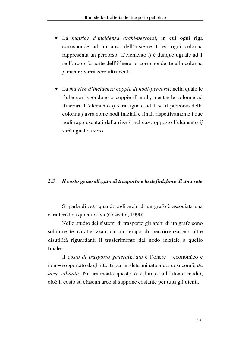 Anteprima della tesi: Costruzione di scenari per il trasporto pubblico nel Vicentino, Pagina 11
