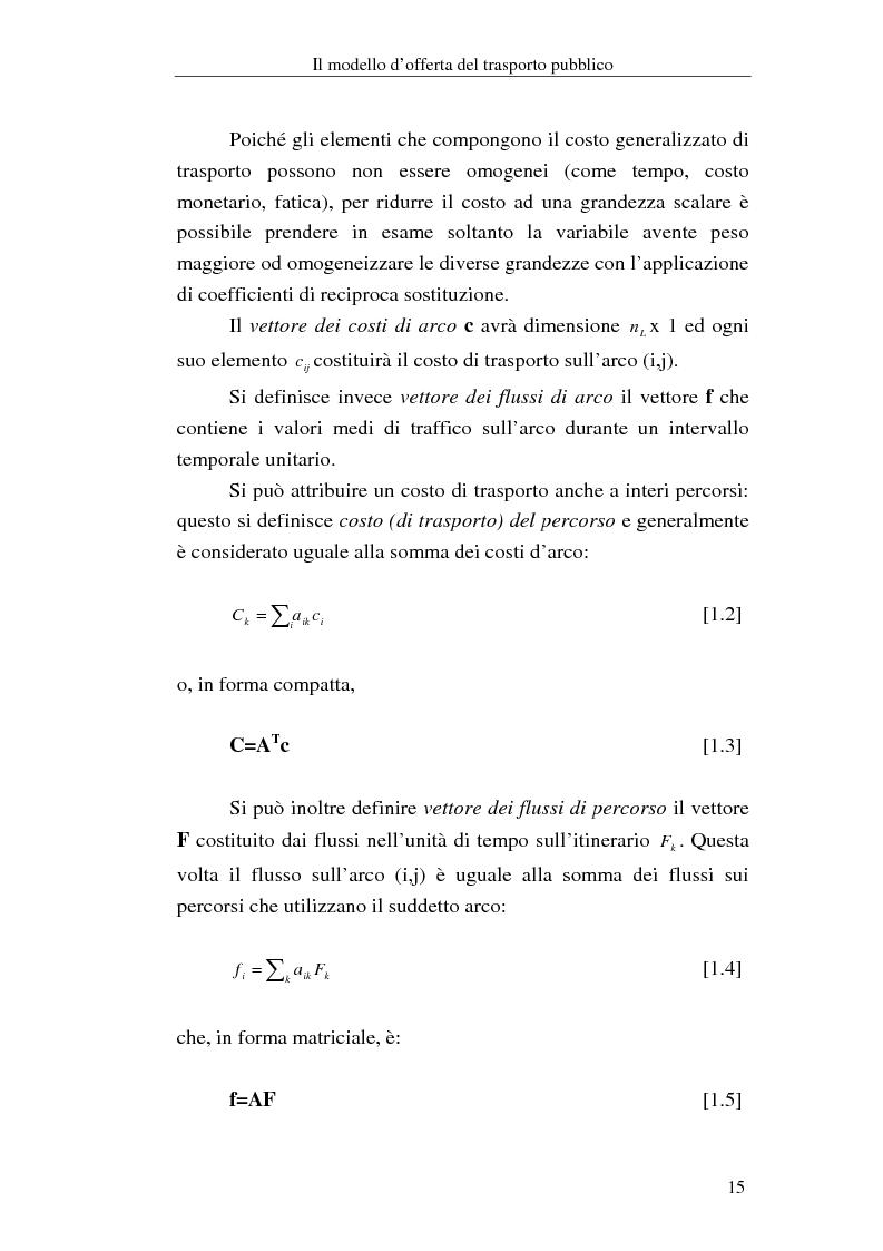 Anteprima della tesi: Costruzione di scenari per il trasporto pubblico nel Vicentino, Pagina 13