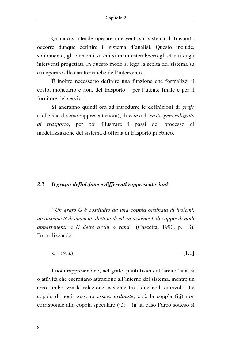 Anteprima della tesi: Costruzione di scenari per il trasporto pubblico nel Vicentino, Pagina 6