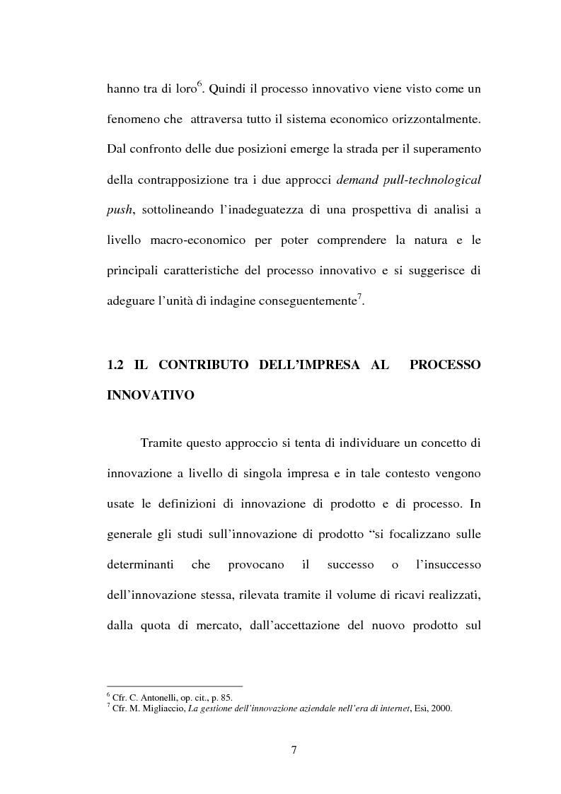 Anteprima della tesi: Lo sviluppo di nuovi prodotti. Il caso Merloni, Pagina 12