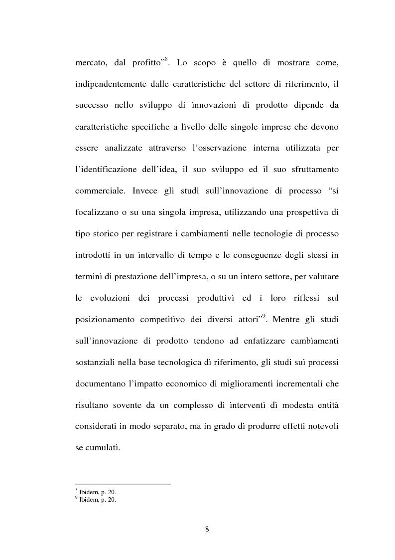 Anteprima della tesi: Lo sviluppo di nuovi prodotti. Il caso Merloni, Pagina 13