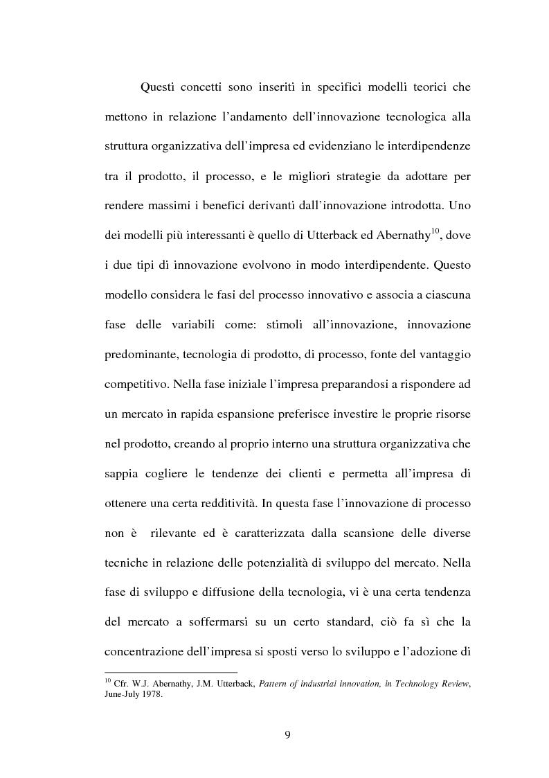 Anteprima della tesi: Lo sviluppo di nuovi prodotti. Il caso Merloni, Pagina 14