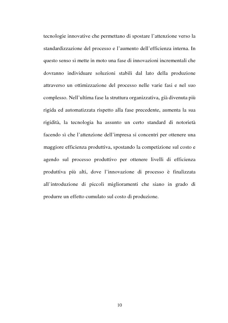 Anteprima della tesi: Lo sviluppo di nuovi prodotti. Il caso Merloni, Pagina 15