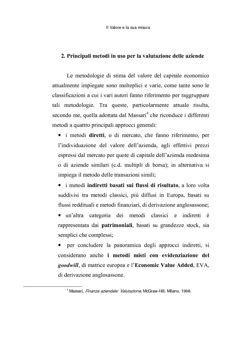 Anteprima della tesi: Le opzioni reali: un approccio per la valutazione di aziende che operano in contesti di elevata incertezza, Pagina 11