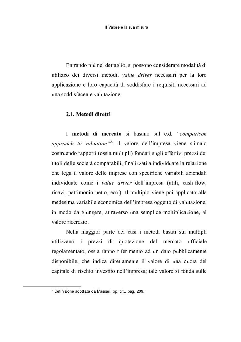 Anteprima della tesi: Le opzioni reali: un approccio per la valutazione di aziende che operano in contesti di elevata incertezza, Pagina 12