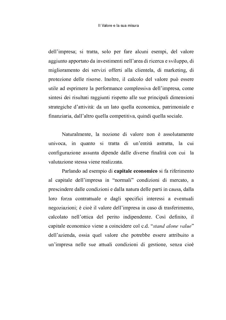 Anteprima della tesi: Le opzioni reali: un approccio per la valutazione di aziende che operano in contesti di elevata incertezza, Pagina 8