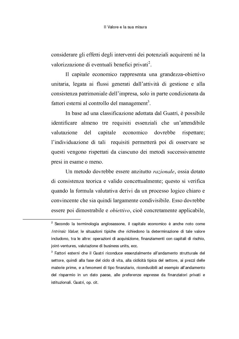 Anteprima della tesi: Le opzioni reali: un approccio per la valutazione di aziende che operano in contesti di elevata incertezza, Pagina 9