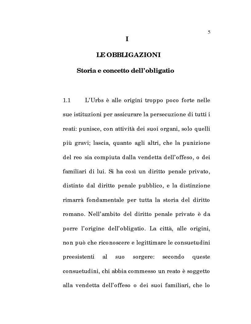 Anteprima della tesi: L'estinzione fittizia del rapporto obbligatorio, Pagina 3