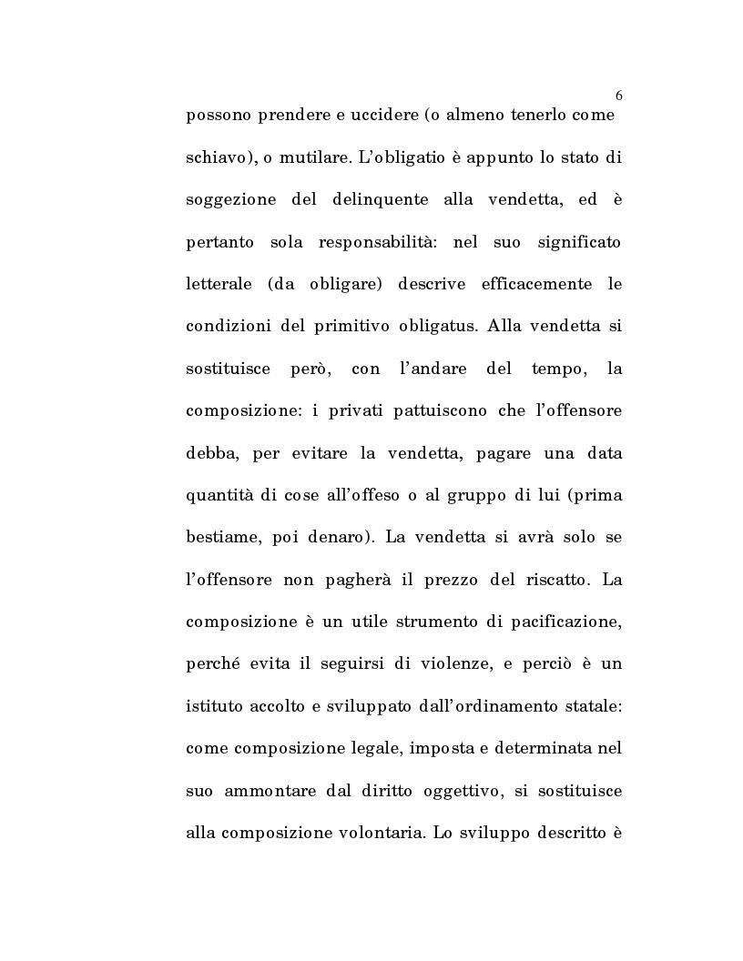 Anteprima della tesi: L'estinzione fittizia del rapporto obbligatorio, Pagina 4