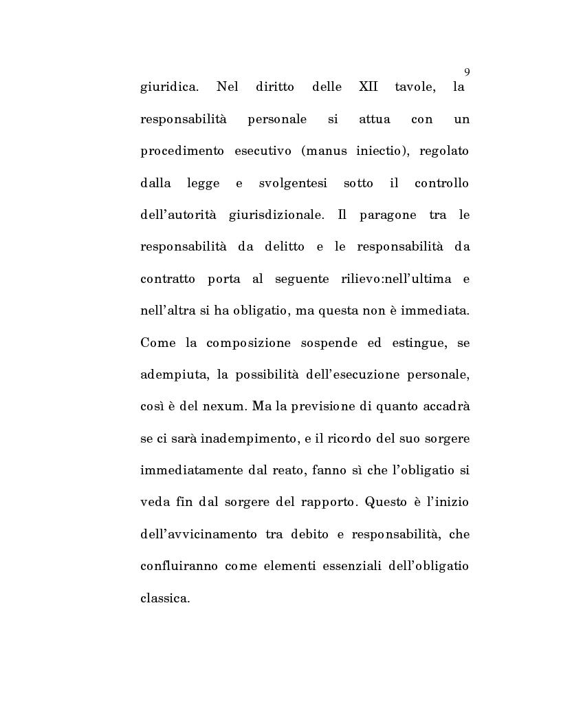 Anteprima della tesi: L'estinzione fittizia del rapporto obbligatorio, Pagina 7