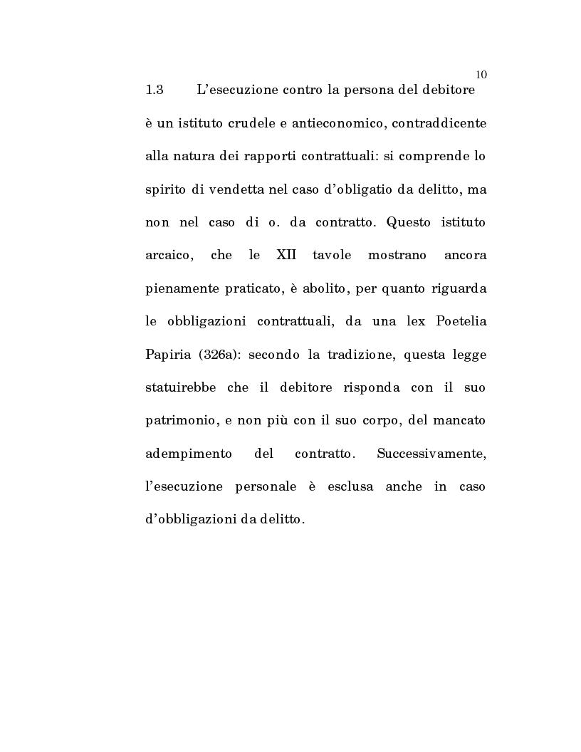 Anteprima della tesi: L'estinzione fittizia del rapporto obbligatorio, Pagina 8