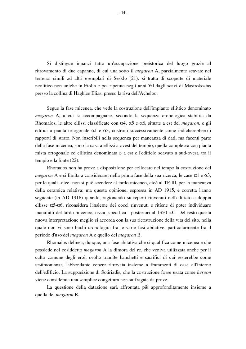 Anteprima della tesi: L'Etolia arcaica e il centro di Thermos, Pagina 12