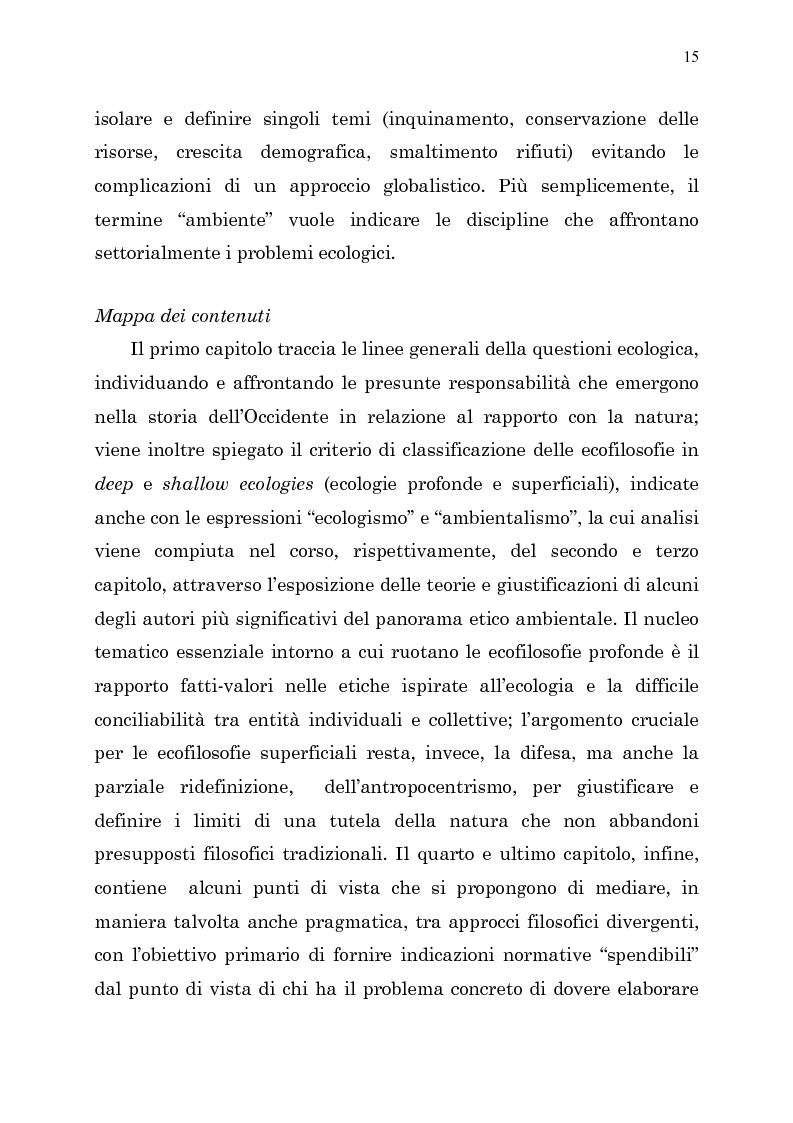 Anteprima della tesi: Etica e ambiente, Pagina 13