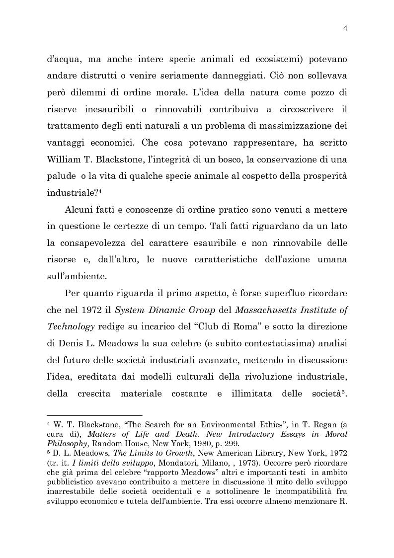 Anteprima della tesi: Etica e ambiente, Pagina 2