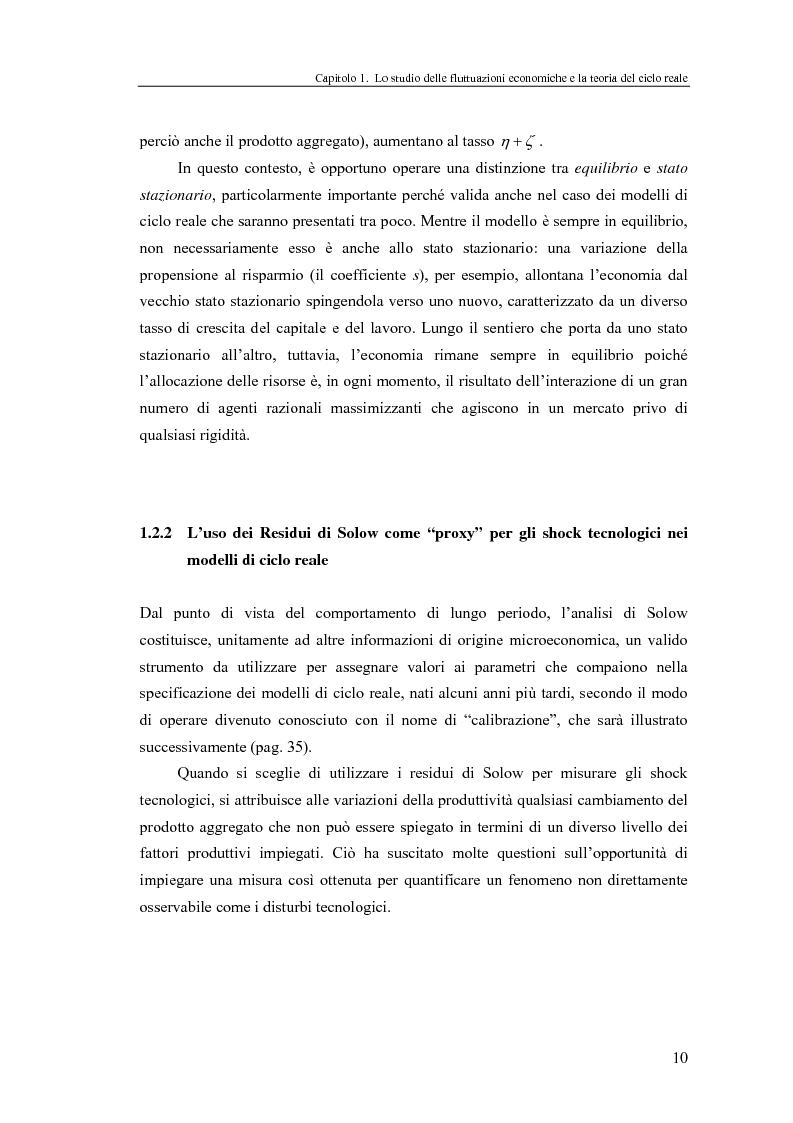 Anteprima della tesi: Ciclo reale e metodologia di ''calibrazione'': sviluppi teorici ed esperimenti computazionali, Pagina 10