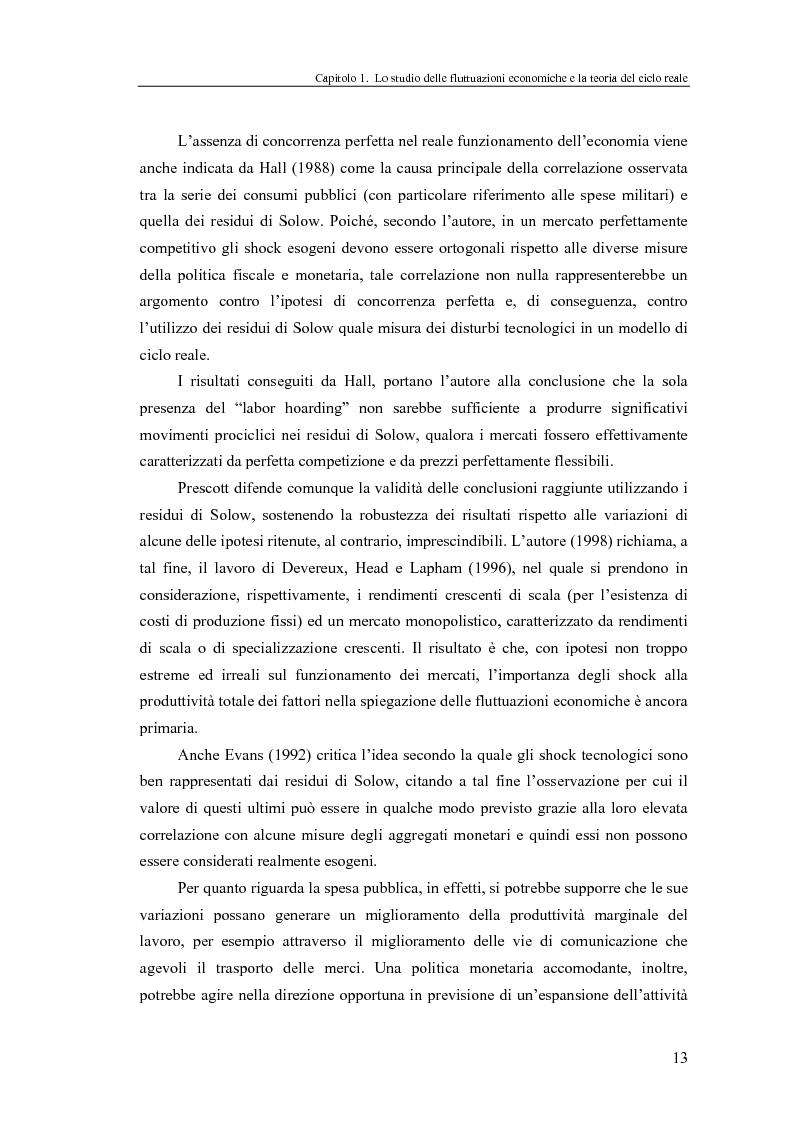Anteprima della tesi: Ciclo reale e metodologia di ''calibrazione'': sviluppi teorici ed esperimenti computazionali, Pagina 13