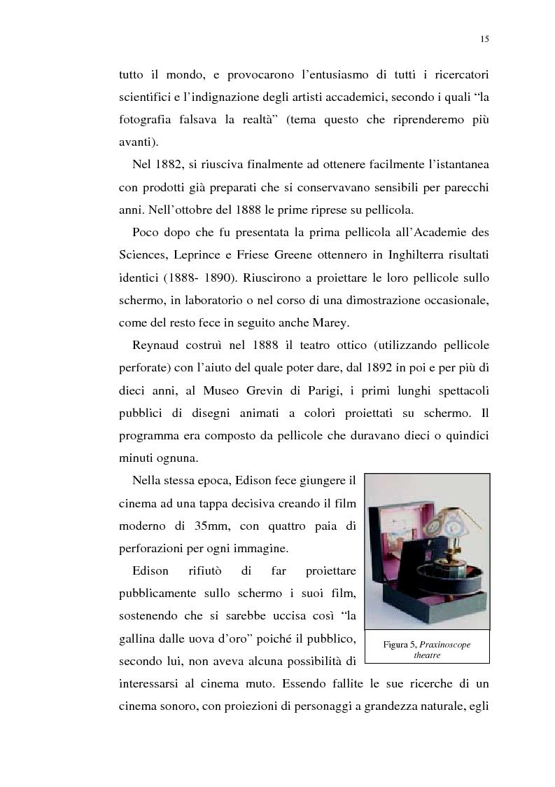 Anteprima della tesi: Fenomenologia del film e della visione cinematografica: struttura, identificazione, percezione, incanto., Pagina 10