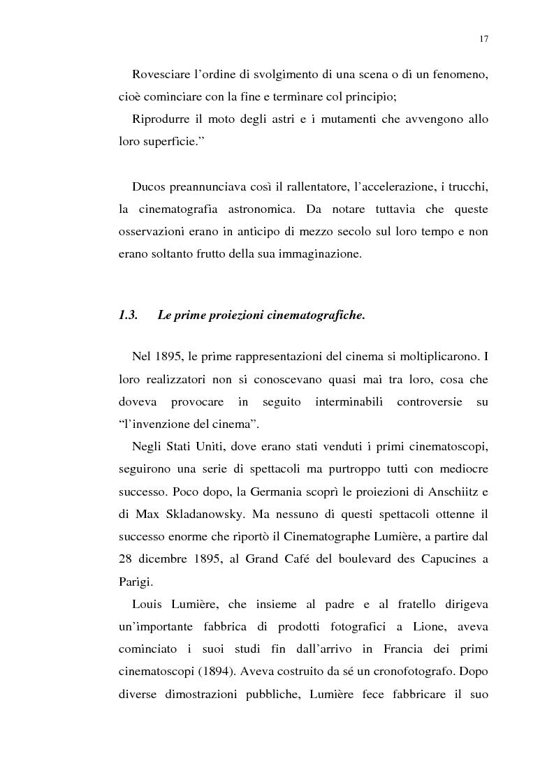 Anteprima della tesi: Fenomenologia del film e della visione cinematografica: struttura, identificazione, percezione, incanto., Pagina 12