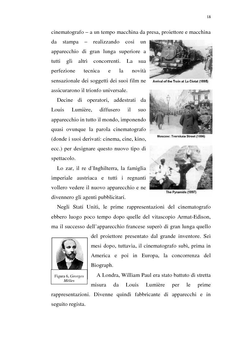 Anteprima della tesi: Fenomenologia del film e della visione cinematografica: struttura, identificazione, percezione, incanto., Pagina 13