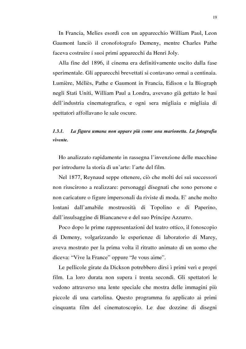 Anteprima della tesi: Fenomenologia del film e della visione cinematografica: struttura, identificazione, percezione, incanto., Pagina 14