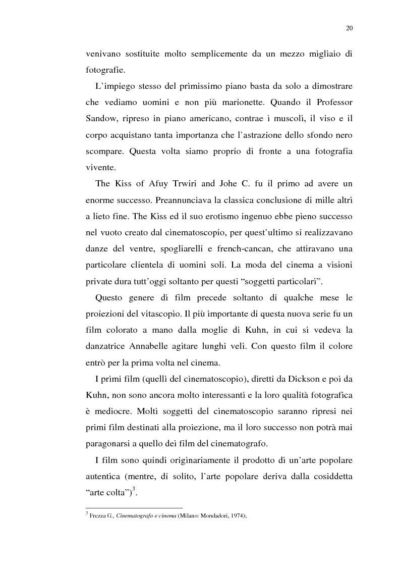Anteprima della tesi: Fenomenologia del film e della visione cinematografica: struttura, identificazione, percezione, incanto., Pagina 15