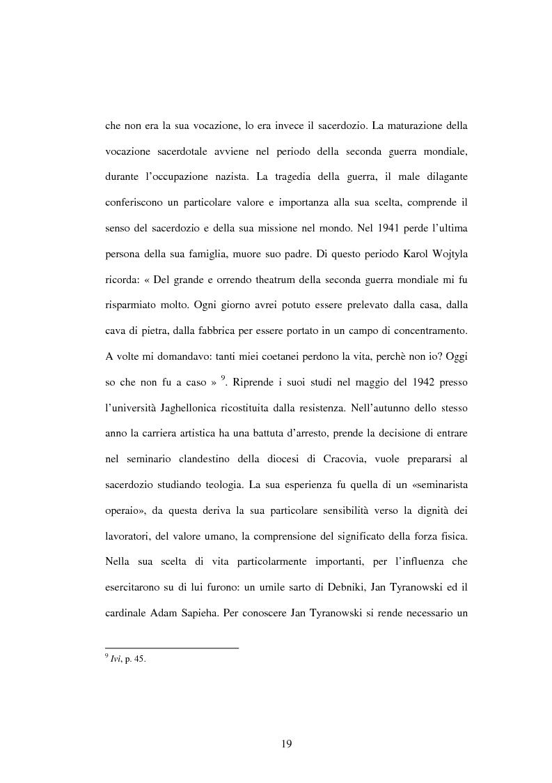 Anteprima della tesi: Etica e verità nelle encicliche di Karol Wojtyla, Pagina 12