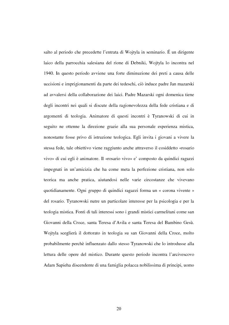Anteprima della tesi: Etica e verità nelle encicliche di Karol Wojtyla, Pagina 13