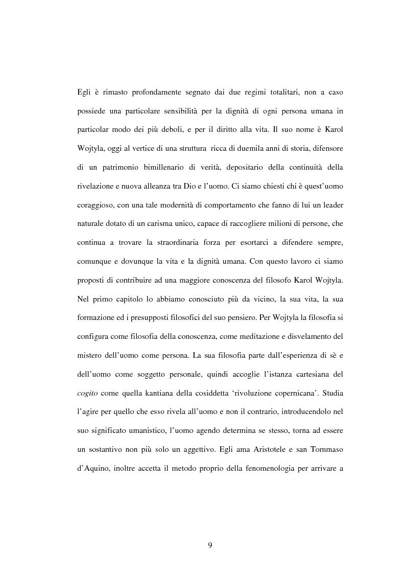 Anteprima della tesi: Etica e verità nelle encicliche di Karol Wojtyla, Pagina 2
