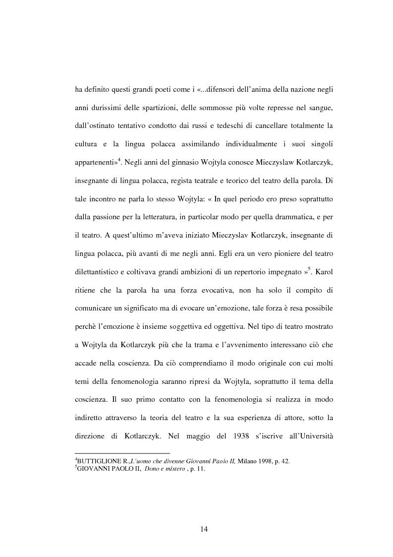 Anteprima della tesi: Etica e verità nelle encicliche di Karol Wojtyla, Pagina 7